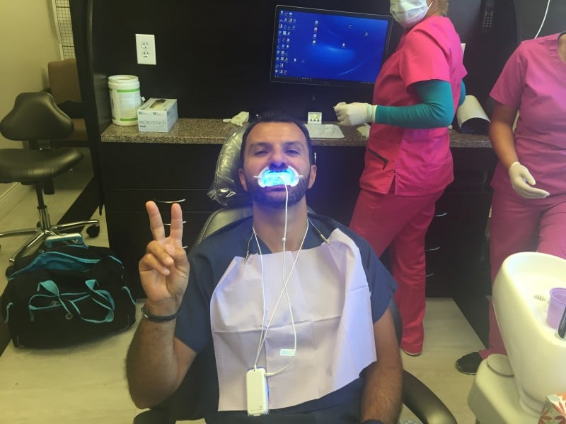 GLO Whitening is a convenient way to whiten teeth
